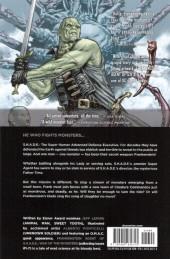 Verso de Frankenstein, Agent of S.H.A.D.E. (2011) -INT01- War of the Monsters