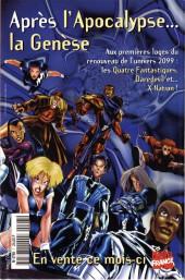 Verso de X-Men (Marvel France 1re série - 1997) -7- X-Men 7