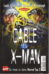 Verso de X-Men (Marvel France 1re série - 1997) -8- À la recherche de l'aube rouge