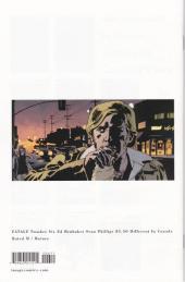 Verso de Fatale (Brubaker/Phillips, 2012) -6- Fatale #6