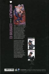 Verso de Catwoman (Ed Brubaker présente) -1- D'entre les ombres...