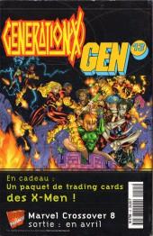 Verso de X-Men (Marvel France 1re série - 1997) -15- Passé recomposé!