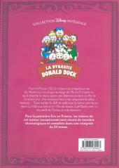 Verso de La dynastie Donald Duck - Intégrale Carl Barks -8- La Ville aux Toits d'or et autres histoires (1957-1958)