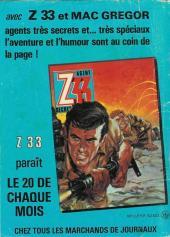 Verso de X-13 agent secret -421- ..Il fallait y penser !..