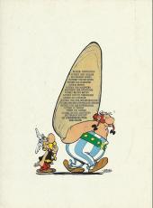 Verso de Astérix (en allemand) -16- Astérix bei den schweizern