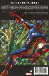 Verso de Captain America: Man out of time (2011) -INT- Man out of time