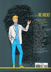 Verso de Ric Hochet - La collection (Hachette) -20- L'homme qui portait malheur