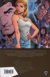 Verso de Buffy contre les vampires - L'intégrale BD -8- Saison 3 - Mauvais sang (II)