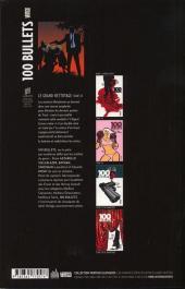 Verso de 100 Bullets (albums brochés) -16- Le grand nettoyage
