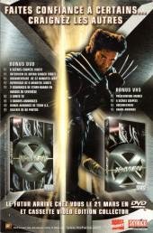 Verso de X-Men (Marvel France 1re série - 1997) -51- Où vont les rêves...?