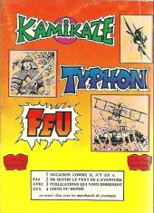 Verso de Kamikaze (Arédit) -5- Torpille larguée