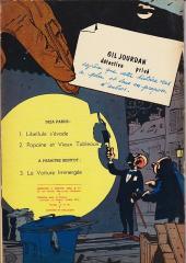 Verso de Gil Jourdan -2- Popaïne et vieux tableaux