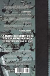 Verso de Batman: Earth One (2012) -1- Batman: Earth One