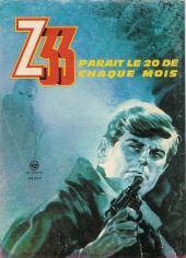 Verso de Z33 agent secret -98- Le fugitif de l'aube