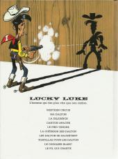 Verso de Lucky Luke -46Pub- Le Fil qui chante