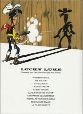 Verso de Lucky Luke -44Pub- La Guérison des Dalton