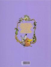 Verso de Toto l'ornithorynque -3- Toto l'ornithorynque et les prédateurs