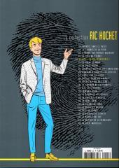 Verso de Ric Hochet - La collection (Hachette) -22- Alerte aux extra-terrestres !