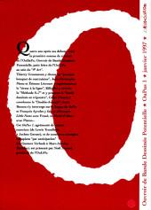 Verso de Oubapo -1- OuPus 1