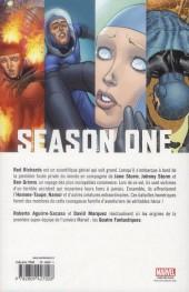 Verso de Season One (100% Marvel) -2- Fantastic Four