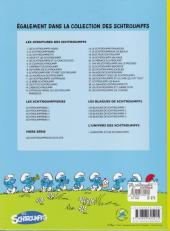 Verso de Les schtroumpfs -27a12- Schtroumpf les bains