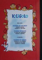 Verso de Kiligolo -4- Kiligolo détective