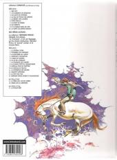 Verso de Comanche -10c2002- Le corps d'Algernon Brown