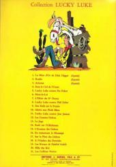 Verso de Lucky Luke -18a64- À l'ombre des derricks