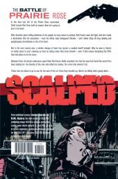Verso de Scalped (2007) -INT09- Knuckle Up