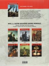 Verso de WW 2.2 -1- La bataille de Paris
