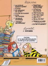Verso de L'Élève Ducobu -2b2009- Au coin !