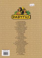 Verso de Papyrus -4c10- Le tombeau de pharaon