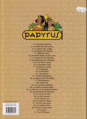 Verso de Papyrus -3c10- Le colosse sans visage