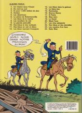 Verso de Les tuniques Bleues -21a1986- Les cinq salopards