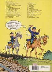 Verso de Les tuniques Bleues -26a1989- L'or du Québec