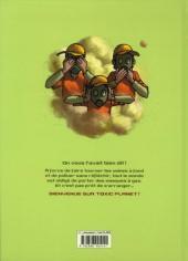 Verso de Toxic planet -INT- Intégrale