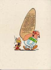 Verso de Astérix -13c1974- Astérix et le chaudron