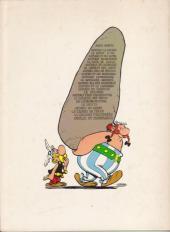 Verso de Astérix -15b78- La zizanie