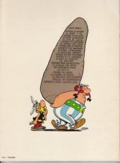 Verso de Astérix -14a79- Astérix en Hispanie