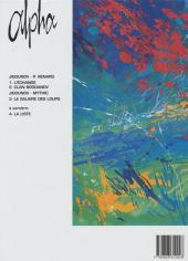 Verso de Alpha (Renard/Mythic/Jigounov/Lamquet) -1a- L'échange