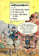 Verso de Les tuniques Bleues -2a74- Du nord au sud