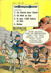 Verso de Les tuniques Bleues -1b74- Un chariot dans l'ouest