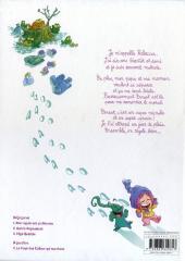 Verso de Ernest & Rebecca -1a2011- Mon copain est un microbe