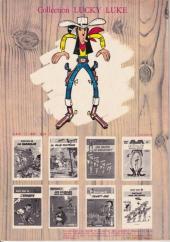 Verso de Lucky Luke -15b1979- L'évasion des Dalton