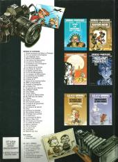 Verso de Spirou et Fantasio -44Pub- Le Rayon noir