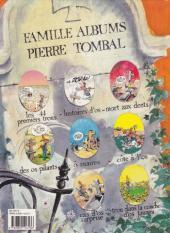 Verso de Pierre Tombal -5a1992- Ô suaires