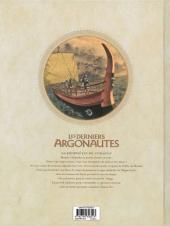 Verso de Les derniers Argonautes -1- Le Silence des dieux
