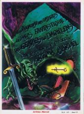 Verso de WeirdWorld (Arédit - Artima Color Marvel Géant) -3- Les gemmes de Darklens