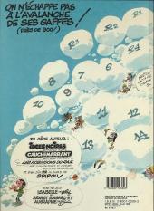 Verso de Gaston -11c1988- Gaffes, bévues et boulettes