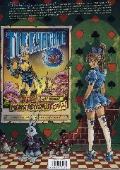 Verso de Little Alice in Wonderland -1- Run, rabbit, run !
